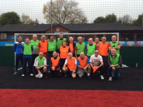 James And The Walking Footballers